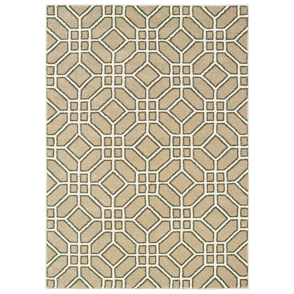 StyleHaven Coronado Geometric Tiles Rug