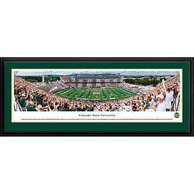 Colorado State Rams Framed Stadium Print
