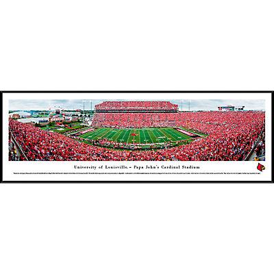 Louisville Cardinals Framed Stadium Print
