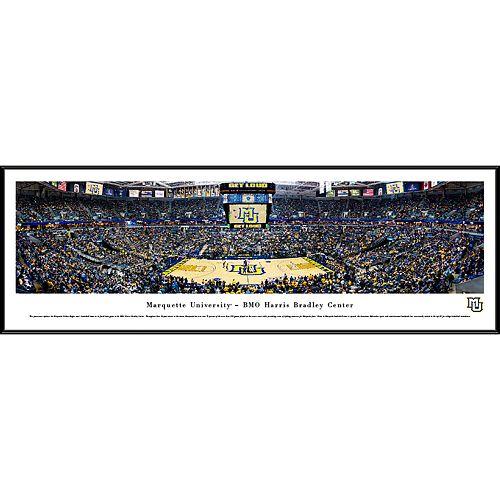 Marquette Golden Eagles Framed Stadium Print