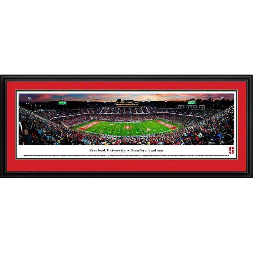 Stanford Cardinal Framed Stadium Print