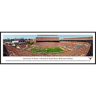 Texas Longhorns Framed Stadium Print