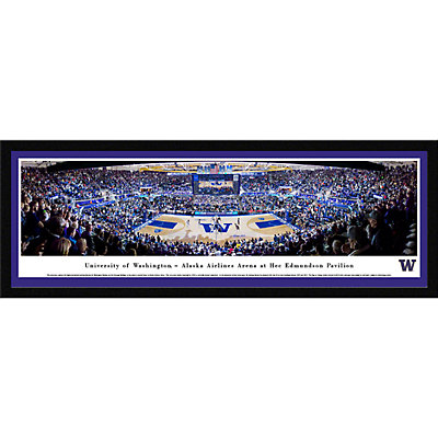 Washington Huskies Framed Stadium Print