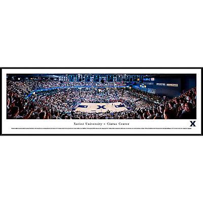 Xavier Musketeers Framed Stadium Print