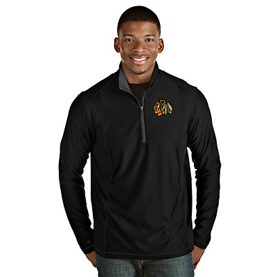 Men's Antigua Chicago Blackhawks Tempo Pullover