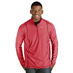 separation shoes 7ccf2 e07a3 Men s Antigua Detroit Red Wings Tempo Pullover