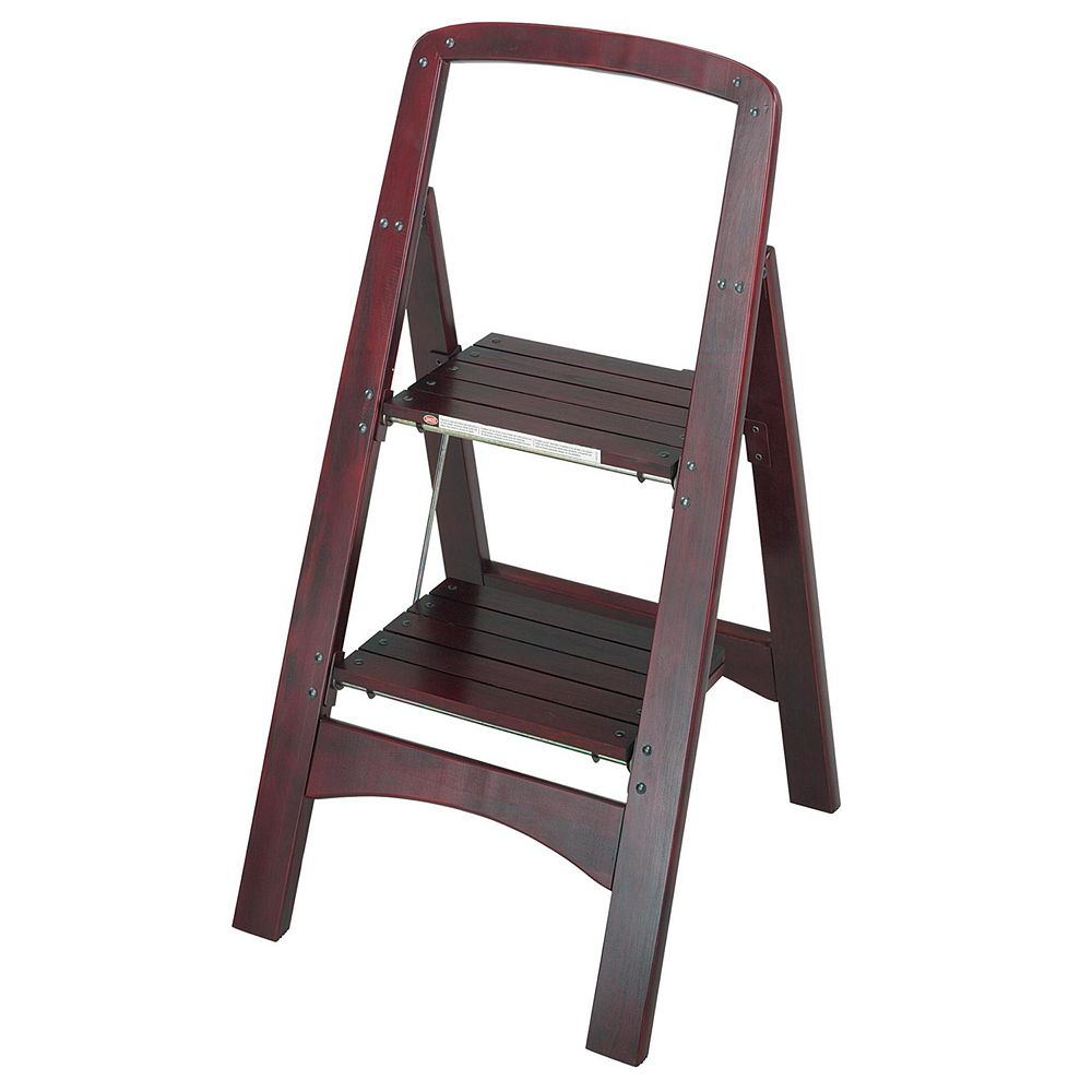 COSCO Rockford Two Step Wood Step Stool