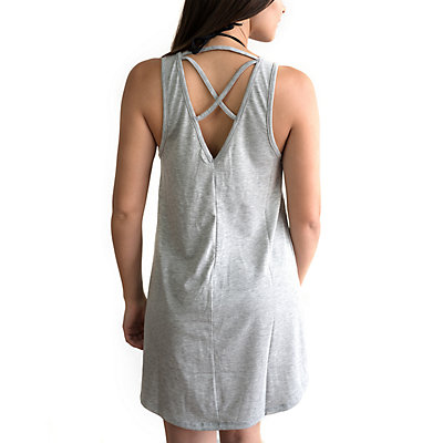 Juniors' Miken Multi-Strap Back Graphic Cover-Up