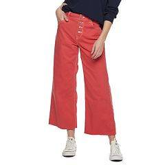 Women's POPSUGAR Wide Leg High-Waisted Crop Pants