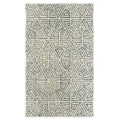 StyleHaven Tori Faded Geometric Lattice Rug