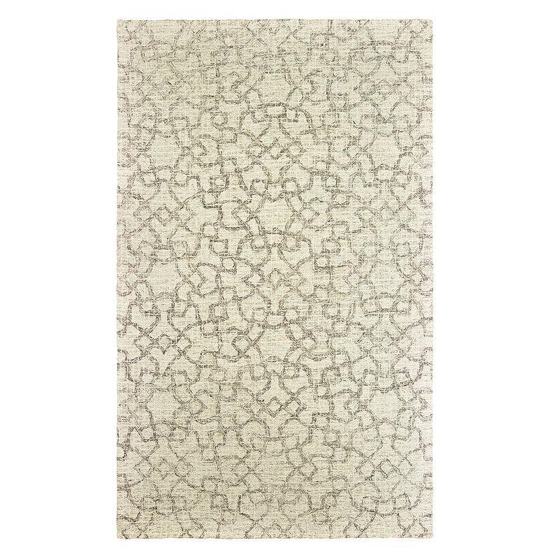 StyleHaven Tori Faded Geometric Lattice Rug, Beig/Green, 8X10 Ft Product Image