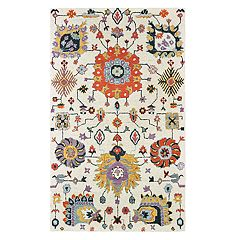 StyleHaven Zarina Floral Geometric Rug