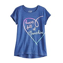 Girls 4-12 Jumping Beans® Foiled Unicorn Tee