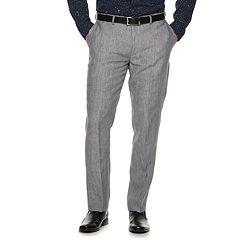 Men's Apt. 9® Slim-Fit Linen Stretch Flat-Front Suit Pants