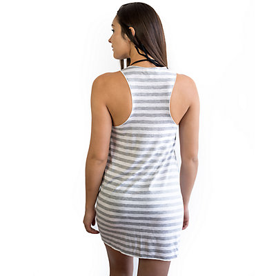 Women's Miken Knit Racer Back Printed Cover Up