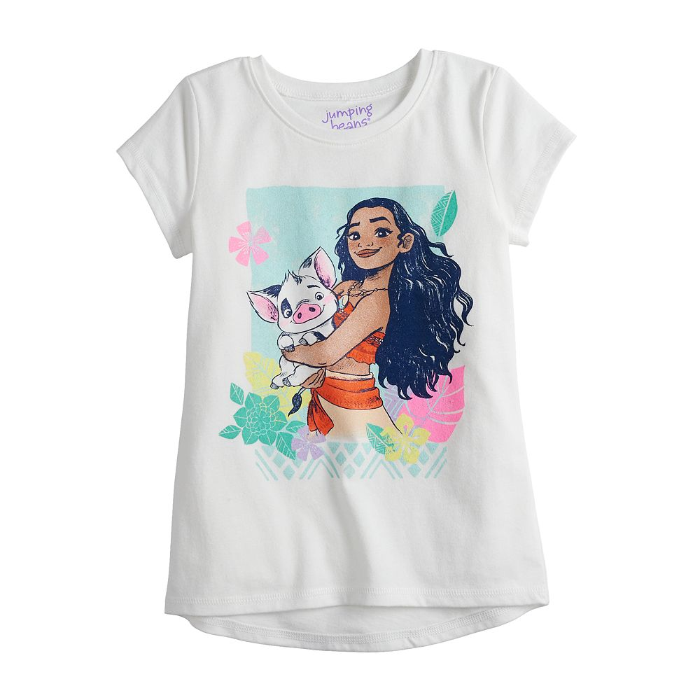 Disney's Moana Girls 4-12 Graphic Knot-Front Tee by Jumping Beans®