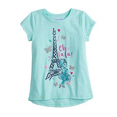 Disney's Fancy Nancy Girls 4-10 Eiffel Tower 'Oh La La' Graphic Tee by Jumping Beans®