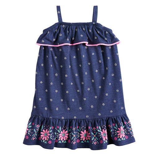 Girls 4-12 Jumping Beans® Ruffled Floral Dress