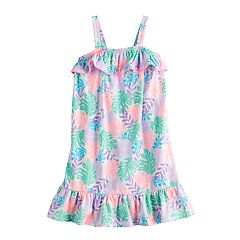 Girls 4-12 Jumping Beans® Ruffled Floral Dress