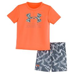 Baby Boy Under Armour Knockout Logo Tee   Shorts Set d4718513f