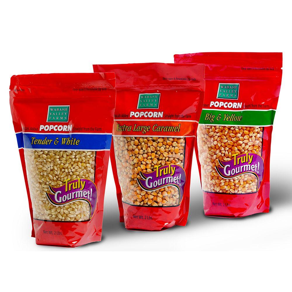 Wabash Valley Farms Big & Bold Gourmet Popcorn Trio