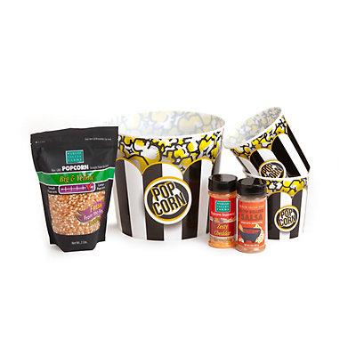 Wabash Valley Farms Fiesta Seasoning Combo with Reusable Tubs & Popcorn