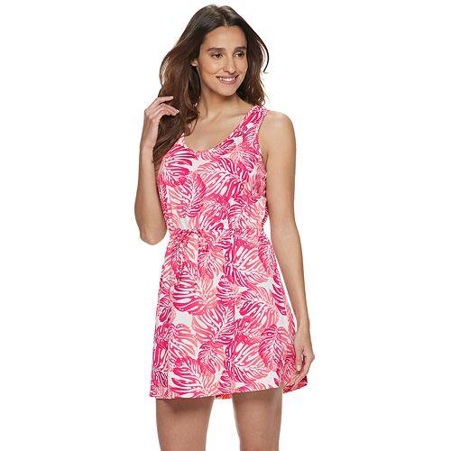 Women's Portocruz Floral Tank Dress Cover-Up