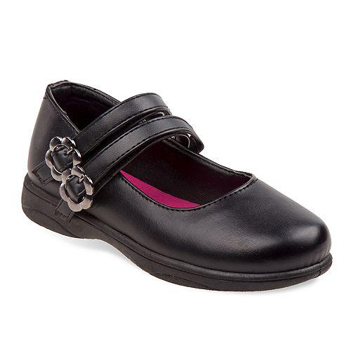 Petalia Girls' Double Strap Mary Jane Shoes