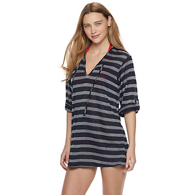 Women's Portocruz Striped Tunic Cover-Up