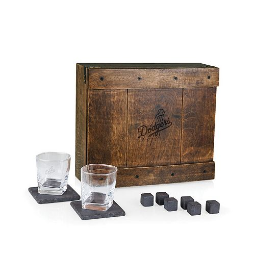 Los Angeles Dodgers Whiskey Box Gift Set