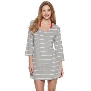 Women's Portocruz Striped Tunic Cover-Up