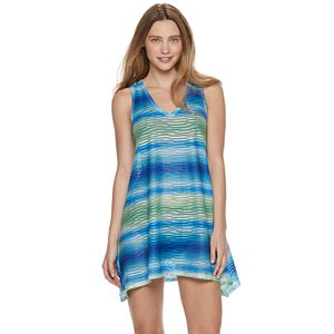 d8dad0115b83c Women's Miken Knot Side Racer Back Printed Cover Up. Sale
