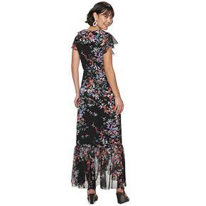 Women's Apt. 9® Ruffle Wrap Maxi Dress