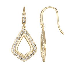Harper Stone Crystal Drop Earrings