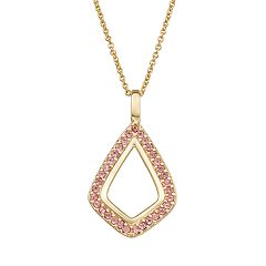 Harper Stone Crystal Drop Necklace