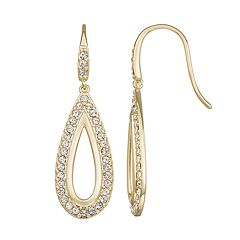 Harper Stone Crystal Teardrop Earrings