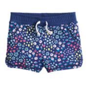 Baby Girl Jumping Beans® Essential Knit Shorts