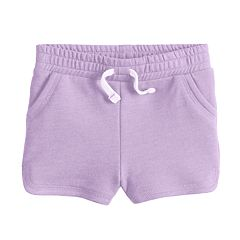 Baby Girl Jumping Beans® Printed Essential Knit Shorts