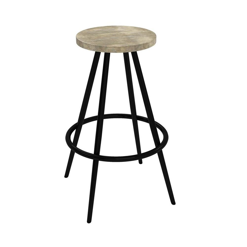 Novogratz Leo Farmhouse Bar Stool