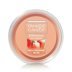 Yankee Candle White Strawberry Bellini Scenterpiece Wax Melt Cup