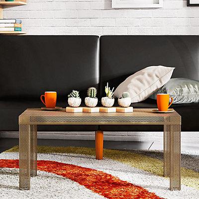 Novogratz Iconic Metal Coffee Table