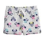 Disney's Minnie Mouse Baby Girl Print Dolphin-Hem Shorts by Jumping Beans®