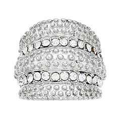 Jennifer Lopez Multi Row Ring