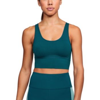 Under Armour Favorite Everyday Longline Heathered Low-Impact Sports Bra 1315715