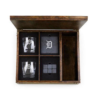 Detroit Tigers Whiskey Box Gift Set