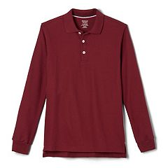 Boys 4-20 French Toast School Uniform Long-Sleeve Pique Polo