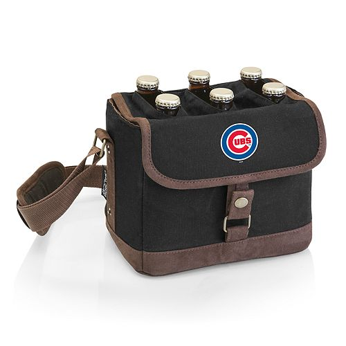 Chicago Cubs Beer Caddy Cooler Tote with Opener