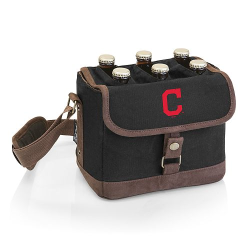 Cleveland Indians Beer Caddy Cooler Tote with Opener