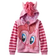 Girls 4-6x My Little Pony Pinkie Pie Glitter Hoodie