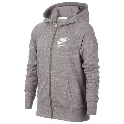 e22fde531a42 Girls 7-16 Nike Vintage Zip-Up Hoodie